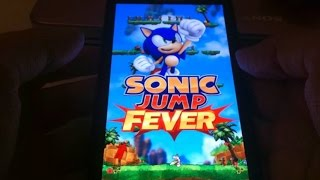 getlinkyoutube.com-Sonic Jump Fever - Gameplay on Samsung Galaxy Note II - Android and iOS App!