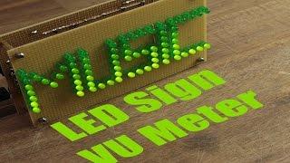 getlinkyoutube.com-Make your own LED Sign VU Meter