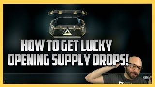 How To Get Lucky With Advanced Supply Drops - Part 1