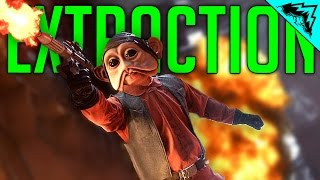 Battlefront EXTRACTION Gameplay, New SNIPER DLT-19X Gameplay & Unlocking Hutt Contracts