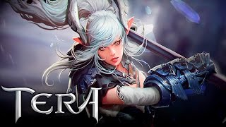 getlinkyoutube.com-TERA - Moonlight Warrior (New Class) - Creation - Prologue Gameplay - F2P - KR