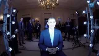 Scanning U.S. President Barack Obama with Artec Eva 3D Scanner