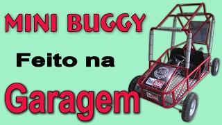 getlinkyoutube.com-Mini Buggy caseiro parte 1/2, mini carro feito na garagem, How to build a go kart,  fazer um Kart