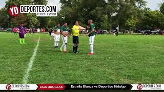 Estrella Blanca vs. Deportivo Hidalgo Liga Douglas Juego de Ida