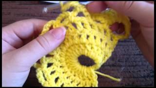 getlinkyoutube.com-How to: Virus Shawl / Scarf Crochet Tutorial