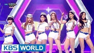 getlinkyoutube.com-T-ARA - So Crazy | 티아라 - 완전 미쳤네 [Music Bank COMEBACK / 2015.08.22]