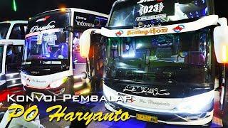 BIKIN HERAN.!! diKejar sampe PAMER GOYANGAN. PO Haryanto HM 023 vs SDD Karina width=