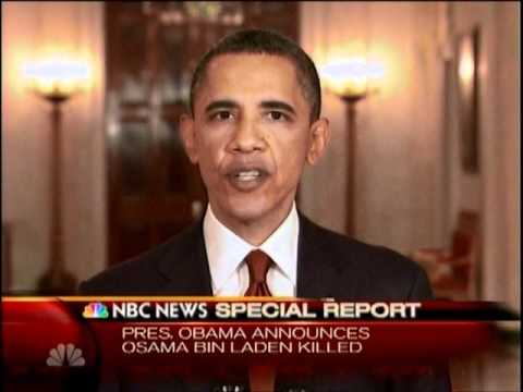 FIXED AUDIO President Obama Announces Osama Bin Laden Killed in Pakistan May 1, 2011 [full speech]