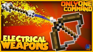 getlinkyoutube.com-Minecraft - Electric Arrows and Bombs | Only One Command! | No Mods! (Vanilla)