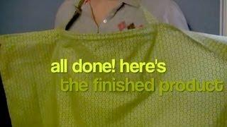 getlinkyoutube.com-How to Make a Nursing Cover (How to Sew a Breastfeeding Cover - Sewing Tutorial)