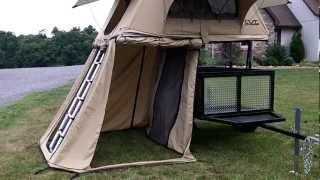 getlinkyoutube.com-New CVT roof top tent walk around