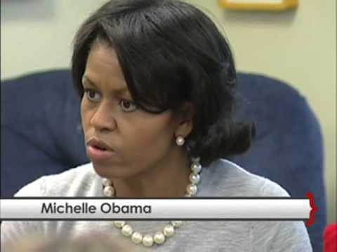 University of South Carolina - Michelle Obama reads to Students on the Cocky Reading Express