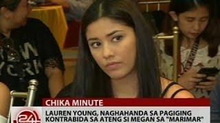 24Oras: Lauren Young, naghahanda sa pagiging kontrabida sa ateng si Megan sa