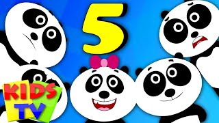 getlinkyoutube.com-Kids TV Nursery Rhymes - Five Little Pandas | Nursery Rhymes For Children | Kids TV Original Songs
