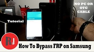 getlinkyoutube.com-How to bypass Factory Reset Protection on Samsung devices without  PC or OTG new crazy method