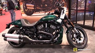 getlinkyoutube.com-2015 Harley-Davidson VRSC Night Rod Special - Walkaround - 2014 New York Motorcycle Show