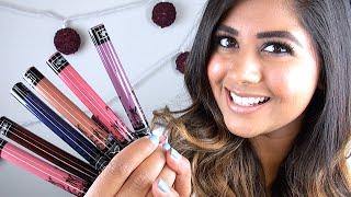 NEW Kat Von D EVERLASTING Liquid Lipsticks: Review & Lip Swatches!