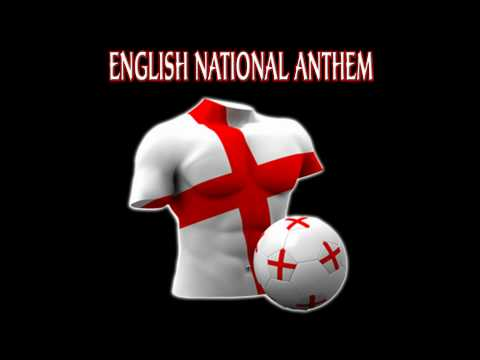 English British National Anthem England World Cup 2010 Soccer Football God Save The Queen