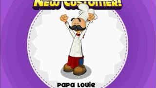 getlinkyoutube.com-Papa's Donuteria - Papa Louie Unlocked! (Rank 65, Day 99)