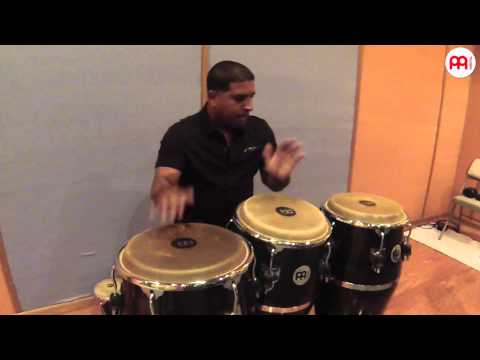Kachiro Thompson Afro-Cuban Styles on Congas Part 2 MEINL Pe