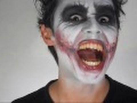Maquillaje de Guason (Heath Ledger)
