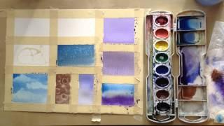 getlinkyoutube.com-13 Watercolor techniques