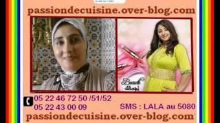 شهيوات رمضانية من عند حفيظة أستاذة طبخ و حلويات من مكناس 30/06/2014