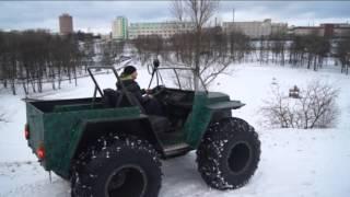 """getlinkyoutube.com-Самодельный Лёгкий Болотоход """"МАРС 5"""""""