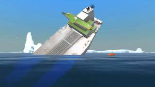getlinkyoutube.com-Oil Tanker Sinks | Ship Simulator Extremes