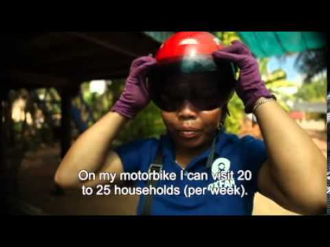 Day in a life - Oxfam Cambodia Health Volunteer