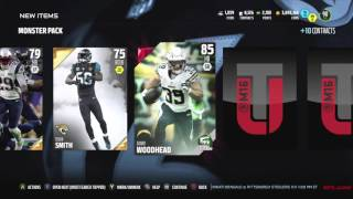 MEGA MOST FEARED MONSTER PACK BUNDLE! Madden 16 Ultimate Team Pack Opening