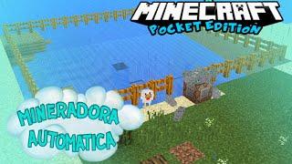 getlinkyoutube.com-Mineradora Automática MOD para minecraft pocket edition  0.13.0 !