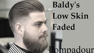 getlinkyoutube.com-Slick Back Skin Fade Tutorial