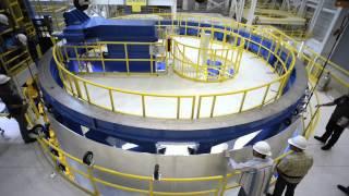 getlinkyoutube.com-First Liquid Hydrogen Tank Barrel Segment, SLS Core Stage