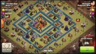 getlinkyoutube.com-EPIC CLAN WAR - How QUANTUM'S WEB destroyed Mega with 96 - 93 - best clan war in history