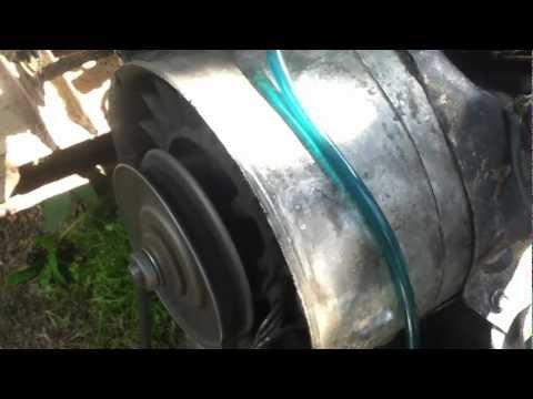 Первый запуск двигателя ЛуАЗ-969