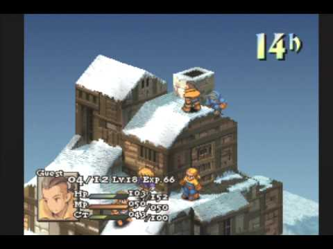 Let's Play Final Fantasy Tactics #28 - Let It Snow