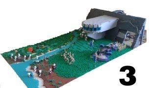 getlinkyoutube.com-Lego Star Wars Huge Droid mountain base on Kashyyyk #3