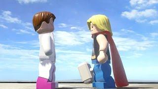 getlinkyoutube.com-CURT CONNORS VS THOR (CLASSIC) (BATTLE) - LEGO Marvel Super heroes