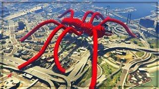 getlinkyoutube.com-WORLDS BIGGEST SPIDER!! - TOP 10 BEST GTA 5 ONLINE RACES - LIVE