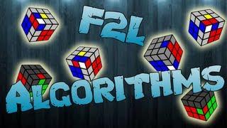 getlinkyoutube.com-F2L Algorithms [EASY CASES]