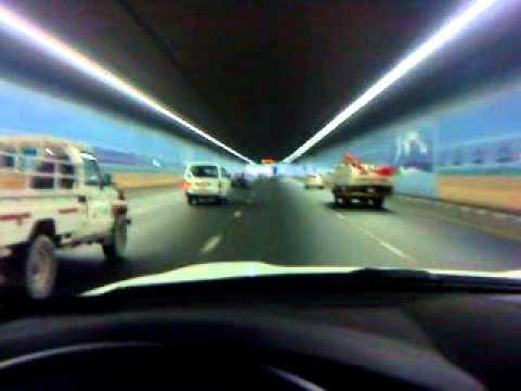Jokalian , Mubi Driving in Dubai  Airport   tunnel.