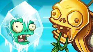 getlinkyoutube.com-Plants vs Zombies 2: New Big Waves Beach Quest! (PvZ 2)