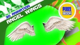 getlinkyoutube.com-Green Screen Angels Wings Bird Wings Flapping Wings - Footage PixelBoom