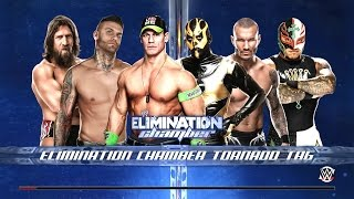 getlinkyoutube.com-Why Are You Beating Me Up?!!! [Elimination Chamber] WWE 2K15
