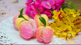 getlinkyoutube.com-[더스쿱]154. 페북에서 난리 난 복숭아 쿠키 ! 만들어볼께요, 헤헿♥3♥ A7SII : Italian Peach Cookies (Pesche Dolci)
