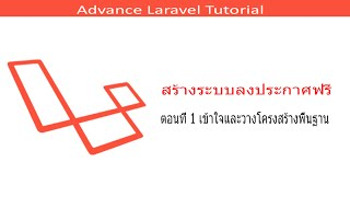 getlinkyoutube.com-Laravel Advance Tutorial ตอนที่ 1 เข้าใจและวางโครงสร้างพื้นฐาน