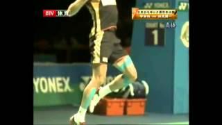 getlinkyoutube.com-Lee Chong Wei epic trick shots!