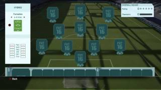 getlinkyoutube.com-Best Hybrid 20k team!! (FIFA 16 ULTIMATE TEAM)