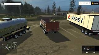getlinkyoutube.com-Farming Simulator 2015 Mods- Trailers, Topkick, and Pepsi Truck!